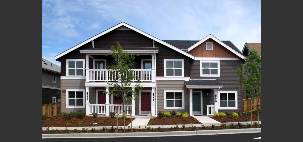 Bay Vista Multifamily Housing. Arrowarrow